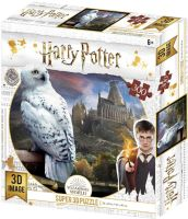 High Quality 3D Lenticular 300pcs Jigsaw Puzzle Hedwig Harry Potter